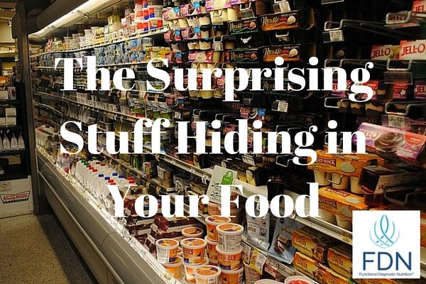 Surprising stuff hiding in your food