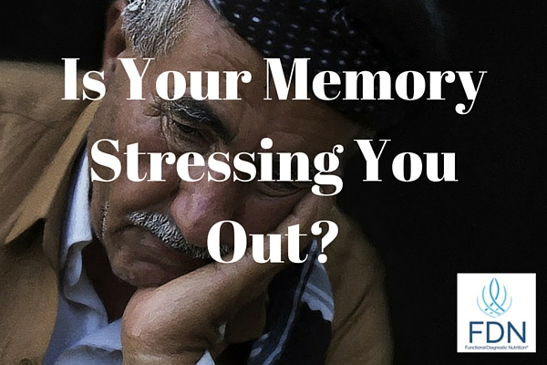 Is Your Memory Stressing You Out