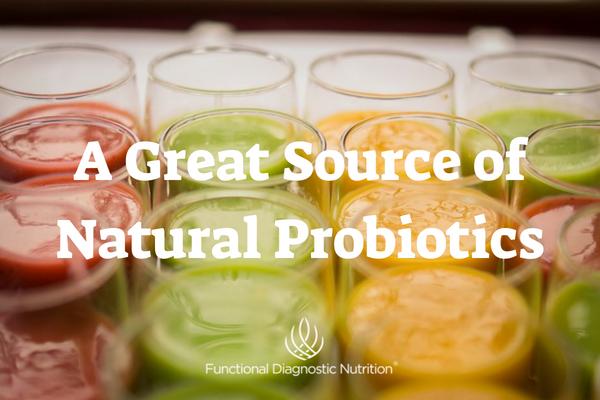 A Great Source of Natural Probiotics FDN
