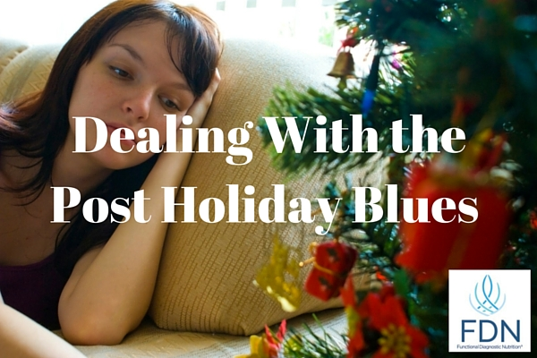 Dealing With the Post Holiday Blues