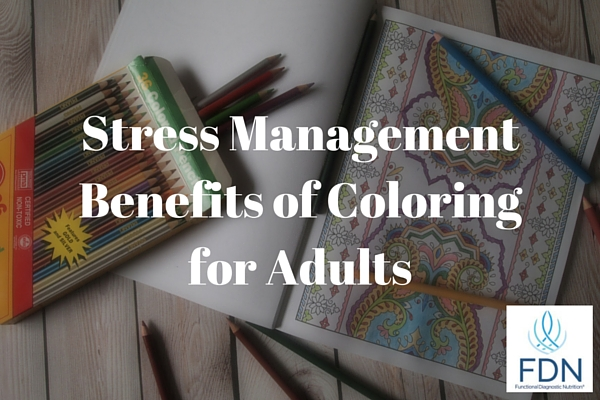 Stress Management Benefits of Coloring for Adults