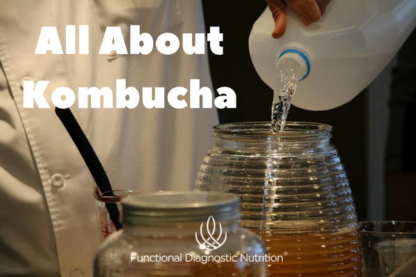 All About Kombucha with Hannah Krum from Functionaldiagnosticnutrition.com #kombucha #functionalhealthcoach