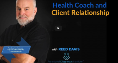 Functional Diagnostic Nutrition Health Coach and Client Relationship